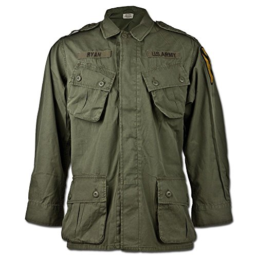Mil-Tec US Jacke M64 Vietnam oliv Größe XXL