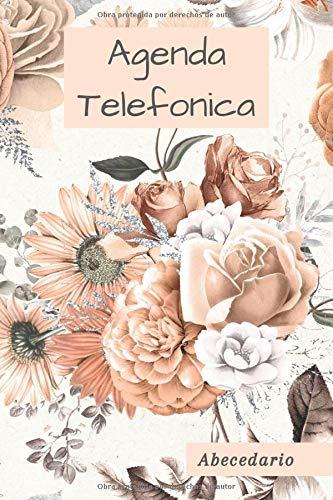 Agenda Telefonica: Libreta de Direcciones, abecedario A5 17x22, guarda tus direcciones, correos electrónicos, números de teléfono, medios sociales, ... contraseñas de regalo originales y perfectas.