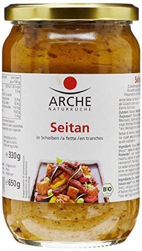 Arche Seitan en Tranches Sauce Soja Bio 650 g