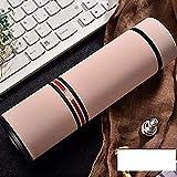 SMX Taza de Viaje de usos múltiples con café colado Caliente y fría, 500ml (Color : D)