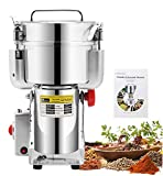 CGOLDENWALL 2500g Commercial Spice Grinder Electric Grain Grinder...
