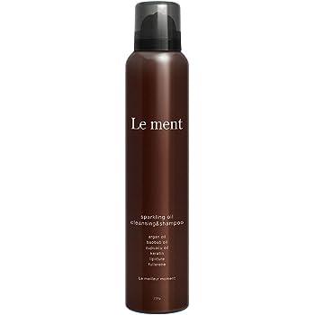 Le ment (ルメント) 高濃度炭酸シャンプー 200g オーガニック アミノ酸 ヘッドスパ アルガンオイル 9種類のオーガニック植物エキス配合(保湿・整肌) 低刺激 ホワイトブーケの香り