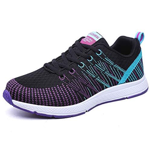 Zapatos de Mujer Zapatillas de Deporte de Verano Running Malla atlética Jogging Zapatillas para Caminar