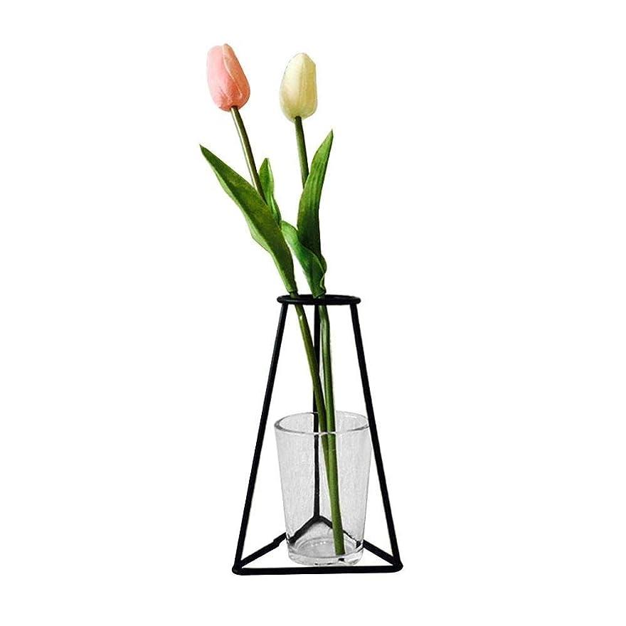 貫入思いつく透明にJicorzo - グローブフェアリーミニチュアガーデン装飾アイアンアートクラフトシンプルバルコニーフラワーポットスタンドヴィンテージ家の庭の装飾アクセサリー[G07]