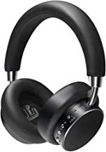 Active Noise Cancelling Headphones Any Warphone Bluetooth Headphones with Mic Deep Bass,Foldable and Rotatable Metal Headp...