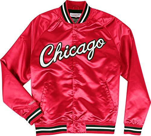 Mitchell & Ness Chaqueta cortavientos Chicago Bulls Red Lightweight Satin Jacket Anorak multicolor M