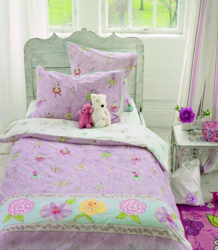 DESIGNESR GUILD Ballerina Bunny beddengoedset, katoen, ROSA, 35x100x135 cm, 2-delig