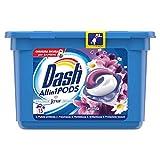 Dash PODS All in1 Detersivo in Monodosi per Bucato, Lavanda, Semplici da Usare, Profumo Ottimale In 1 Solo Lavaggio - 15 Lavaggi