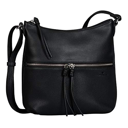 TOM TAILOR Damen Helina Cross bag, black, M
