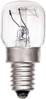 Value Concepts Backofenlampe 25W, E14, für Betrieb bis 300°C, 230V, teflonbeschichtet, intern abgesichert, 4 Stück Von Value Concepts