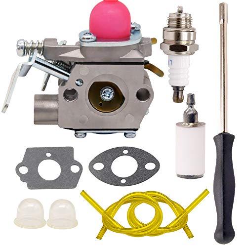 Yooppa Weed Eater Pe550 Carburetor for Poulan PE550 GE21 PP135 Gas Edger Trimmer Carburetor Fits Walbro WT-630 WT-630-1 WT-308 530071634 530069654 Craftsman Edger Carburetor, Pe550 Carburetor