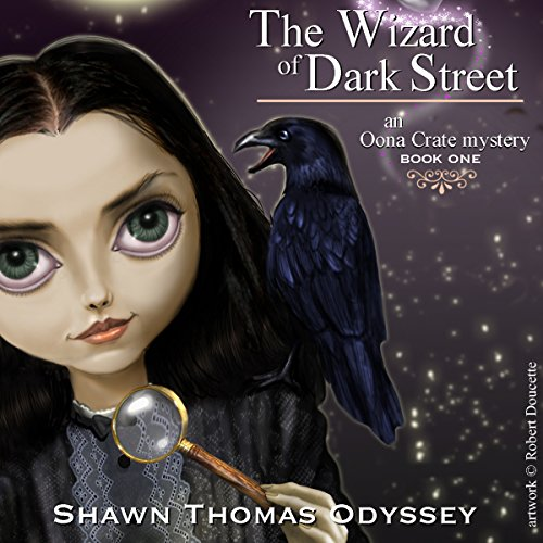 The Wizard of Dark Street audiobook cover art