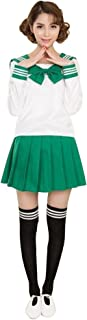 WDA School Uniform Girls Sailor Uniform Dress Japanese Anime School Sailor Dress Costume