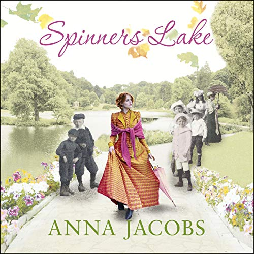 Spinners Lake audiobook cover art
