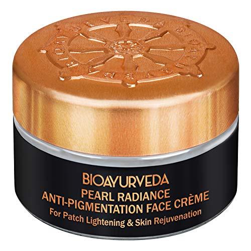 BIOAYURVEDA Pearl Radiance Anti-Pigmentation Face Cream for Patch Lightening & Skin Rejuvenation 20gm