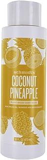 Schmidts Deodorant, Body Wash Coconut Pineapple, 16 Ounce