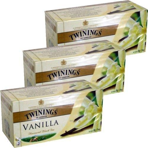 Twinings Teebeutel Vanilla 3 x 25 Btl. (Vanille)