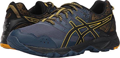 Asics Gel-Sonoma 3 - Zapatillas para correr para hombre, Azul (Insignia Azul/Negro/Dorado Fusion), 43 EU