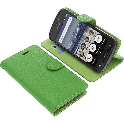 foto-kontor Tasche für Doro 8040 Book Style grün Schutz Hülle Buch