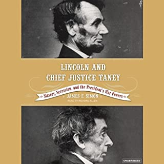 Lincoln and Chief Justice Taney audiobook cover art