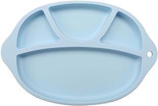 gris Beb/é Mantel individual Shineus Silicona de calidad alimentaria en forma de nube antideslizante mesa port/átil Bandeja de comida mantel para ni/ños o ni/ños