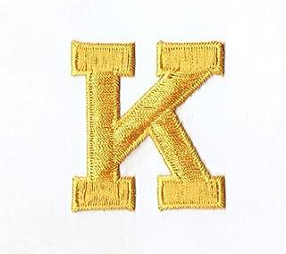 Alphabet Letter - K - Color Yellow - 2