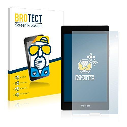 BROTECT 2X Entspiegelungs-Schutzfolie kompatibel mit Medion Lifetab P8312 (MD 99334) Bildschirmschutz-Folie Matt, Anti-Reflex, Anti-Fingerprint