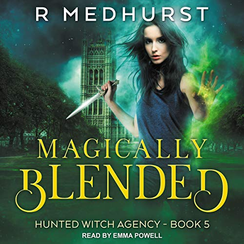 Magically Blended audiobook cover art