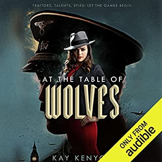 At the Table of Wolves     Dark Talents, Book 1              By:                                                                                                                                 Kay Kenyon                               Narrated by:                                                                                                                                 Nicola Barber                      Length: 11 hrs and 28 mins     27 ratings     Overall 4.1