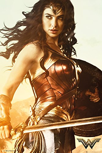 GB eye Ltd DC Comics Wonder Woman Maxi-Poster, Motiv mit Schwert