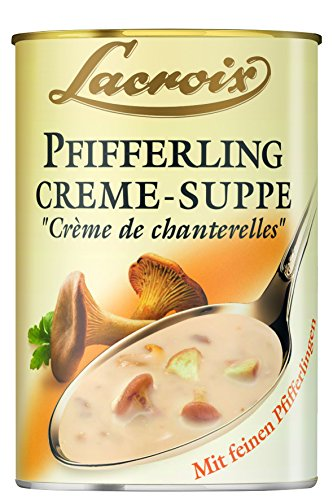Lacroix Pfifferling-Creme-Suppe, 3er Pack (3 x 400 ml)