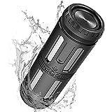 Motast Bluetooth Lautsprecher, Musikbox Bluetooth Box 30H Tragbarer Bluetooth Speaker mit LED Licht,...