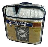 Northwest San Antonio Spurs Raschel Royal Plush 60x80 inch Twin Throw Blanket