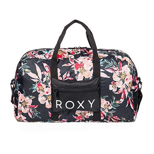 Roxy Women's SO are You Packable dufflebag, Anthracite Wonder Garden S, Dimensions: 20'' 12'' (W) x 7'' (D) / 51 (H) cm-Volume: 26 L EU