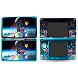 MARIO GALAXY B Nintendo 3DS Cover Skin Decal Sticker Vinyl Matte Finish + Free Screen Protectors (For Old Version Prior 2015)