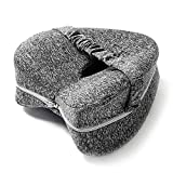 SK Depot™ Knee Pillow with Washable Cover- Memory Foam Orthopedic Leg Pillow Cushion