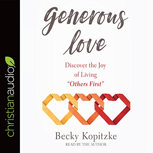 Generous Love audiobook cover art