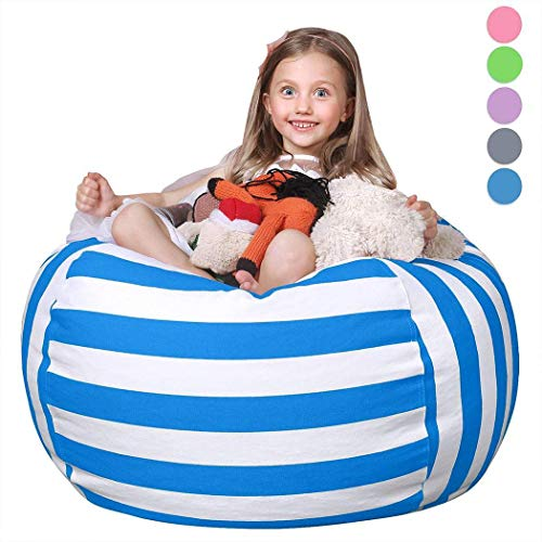 Large Capacity Stuffed Animal Storage Bean Bag Chair $12.80 (70% Off with Code)