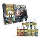 The Army Painter | Kings of War Undead Paint Set | 10 Colores Acrílicos para la Pintura de Muertos Vivientes y Máquinas de Guerra | Pintura de Modelos en Miniatura Wargames