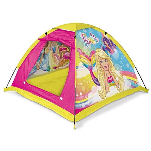 Mondo Toys - Garden Tent Tenda da giardino Barbie - casetta dei Giochi per Interni ed esterni per bambini e bambine - Tenda regalo portatile per bambini sacca di trasporto INCLUSA - 28517