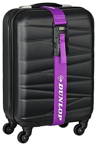 Dunlop 3-in-1 kofferband riem, geïntegreerd cijferslot, geïntegreerde kofferweegschaal tot 40 kg, 1,9 m lang