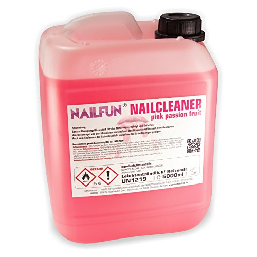 5 Liter Nail Cleaner pink passion fruit im Kanister - 5000 ml Nailcleaner
