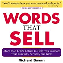 Best words that sell by richard bayan Reviews