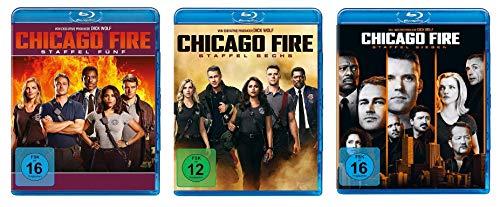 Chicago Fire - Staffel 5-7 [Blu-ray]