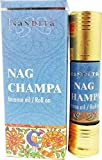 Nag Champa - Nandita Incense Oil/Roll On - 1/4 Ounce Bottle