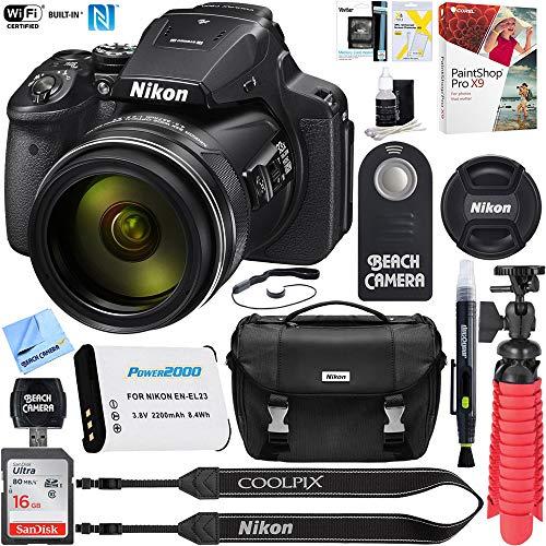 Nikon COOLPIX P900 16MP 83x Optical…