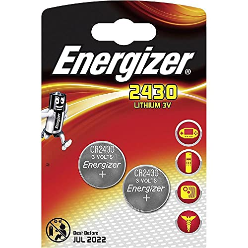 Energizer Lithium CR2430 2PK, 637991