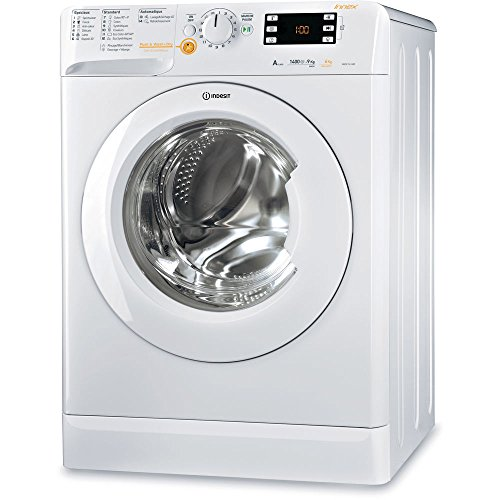 Indesit XWDE 961480X W FR Independiente Carga frontal A Blanco lavadora - Lavadora-secadora (Carga frontal, Independiente, Blanco, Izquierda, Botones, Giratorio, Acero inoxidable)