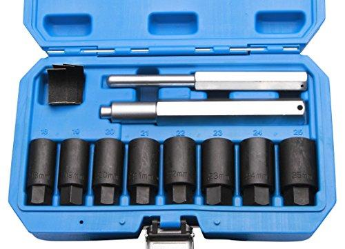 Herkules Werkzeuge Felgenschloss-Demontage-Set 10tlg