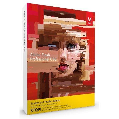 Adobe Flash Pro CS6 [Mac] (version complète réservée aux étudiants et enseignants)